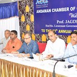 50th ACCI Meeting WRT GST held at Dhamma Hall in TSG EMERALDVIEW presided over by HE LG and MP