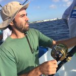 Alejandro...our secret weapon Baja fishing machine nails the jackpot in the Caribbean!!