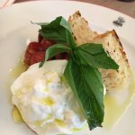 Dennis restaurants are among the very few that imports genuine Burrata cheese from Italy.  Tasty