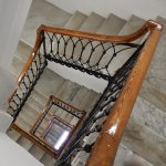 lovely marble staircase (elevator available)