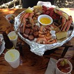 Captain Crab's Sampler Platter for 2