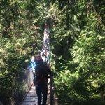 Nice little suspension bridge