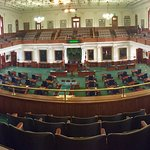 Senate Chamber from the top