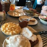 Chicken Fried Steak and Meatloaf