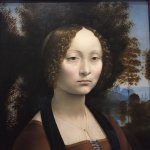 Leonardo da Vinci's only painting in the Americas can be found here.  We took an hour long tour