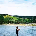 Fly Fishing on the Elbow River