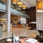 1st floor of Club Lounge during breakfast