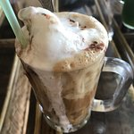 Ice Coffee with Ice Cream at Royal = my Rishikesh addiction