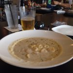 Delish clam chowder
