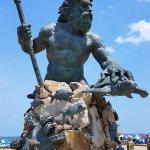 Neptune' s Statue and Park, Virginia Beach, VA