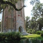 The tower and reflecting pond