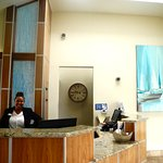 Perfect smile and well informed front desk staff.