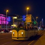 Some of Blackpool's Heritage Trams