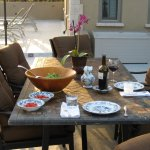 Enjoy our outdoor patio area with a glass of world-class sonoma wine.
