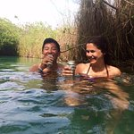 Cervezas in the mangrove channels
