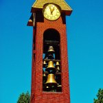 the bells in the clock tower