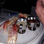 king crab legs ($47 each)