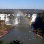 Vista de las Cataratas del lado brasilero