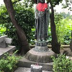 a statue near Bentendo temple