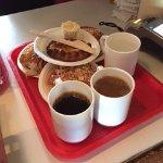 Coffee, Tea, and Homemade Snacks