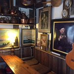 Inside the Cafe Regatta - Notice the painting in the corner