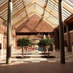 Atrium of the Burrell Museum