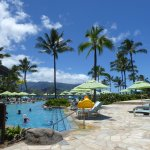 Poolside at the St. Regis, Princeville Hawaii
