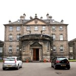 Front elevation of Pollok House