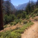 Descending the Don Cecil Trail