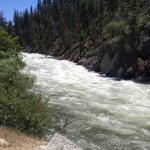 Kings River was high and dangerously powerful