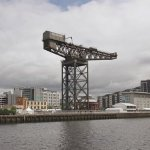Great Crane on River Clyde, Glasgow