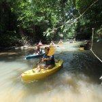 some of us kayaking.