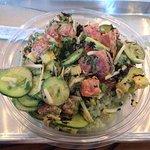 my tuna poke creation - so delicious!