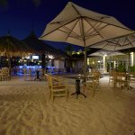Outdoor Dining right on the beach