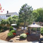 Our grounds include a landscaped garden with a gazebo