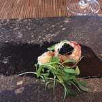 Nova Scotia lobster with Northern Divine Caviar and Kelp Emulsion