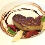 Quebec Foie Gras with Aldergrove Strawberry Agro Dolce, Brioche