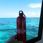 Cool new Captain Slate water bottle. Save the oceans!