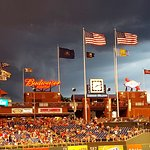 Storm Moving In Shows All Of The Flags and Pennants