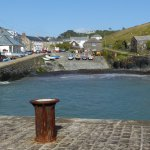 Nearby Mullion Cove with its sheltered harbour