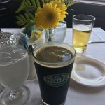 Front and my Tuckahoe draught coffee stout