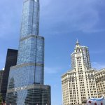 Trump Tower and Wrigley Building