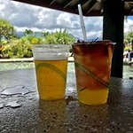 Drinks at the Swim up Bar