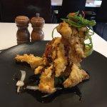 Chilli salted squid signature dish