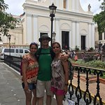 In front of St. John the Baptist Cathedral