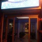 Entrata dell'hotel Amedeo
