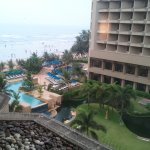View from even numbered rooms