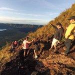 Mount Batur hike in Footprints in Bali