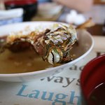 魚バター焼定食