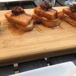 bacon crostini